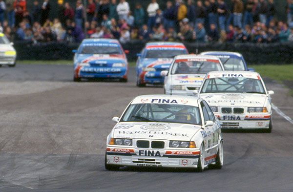 Smokin' Jo Winklehock dominated the BTCC in 1993. Image Credit: thecheckeredflag.co.uk