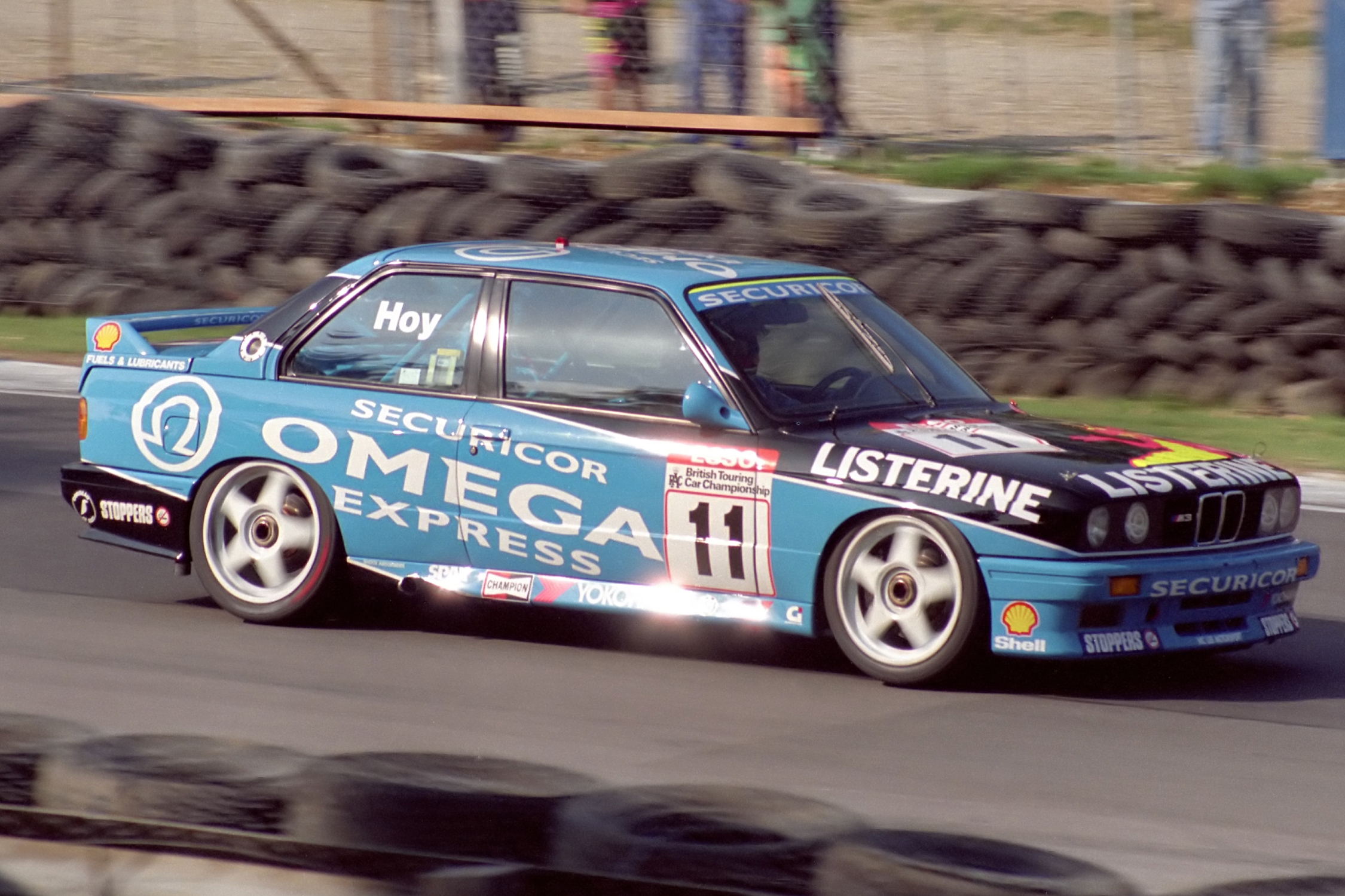 Will Hoy took his BMW M3 to the 1991 title. Image Credit: BTCCCrazy.co.uk