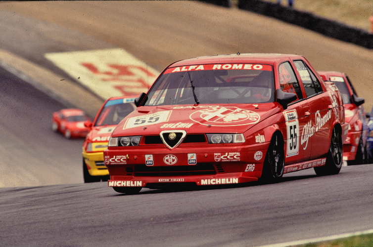 The Alfa Romeo 155 Silverstone from 1994. Image Credit: Simon Lewis