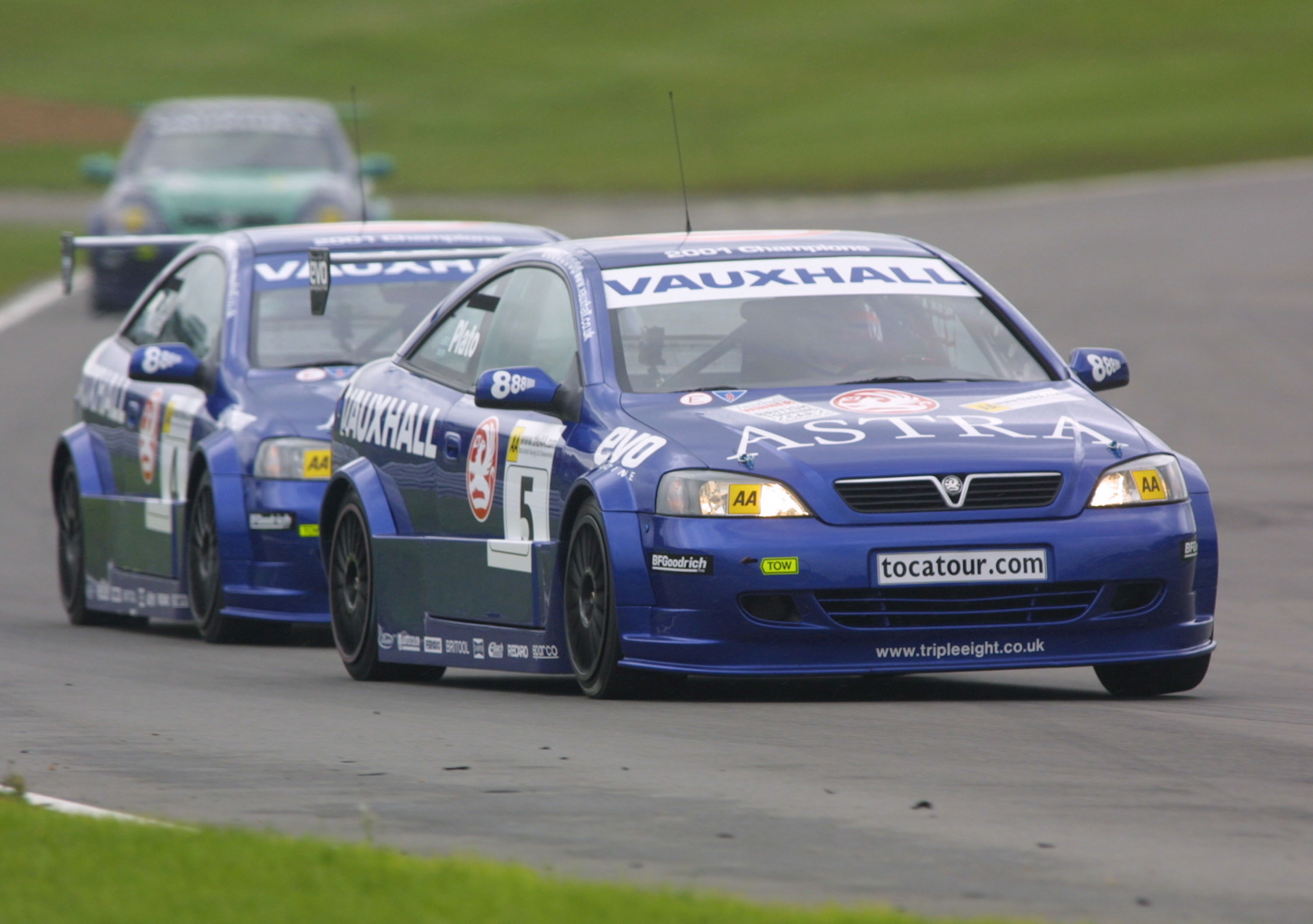 Will BMR face a fierce rivalry like that of Plato and Muller in 2001? Image Credit: BTCC.net