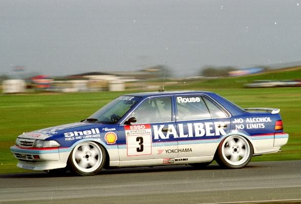 Throughout 1991, Rouse developed his Toyota Carina into a strong contender. Image Credit: retrorides.proboards.com