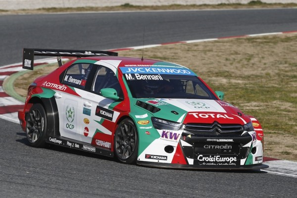Bennani made a name for himself over the opening weekend. Image Credit: fiawtcc.com