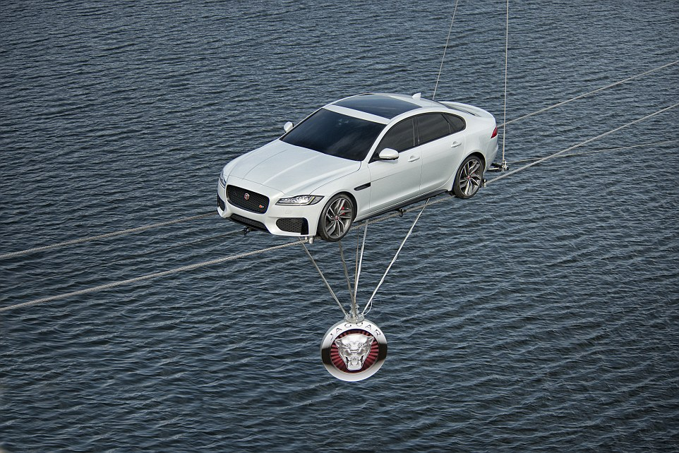 Jaguar XF launch 3