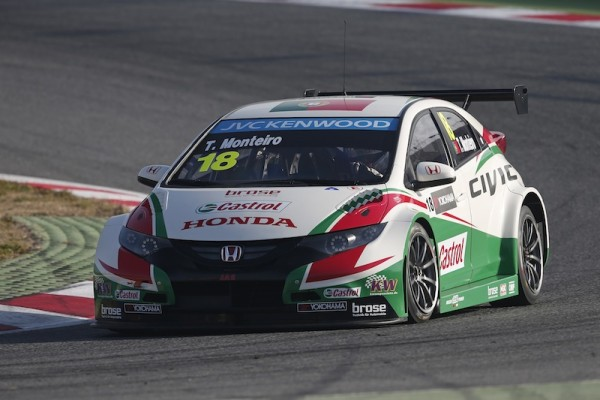 Monteiro is fast becoming my favourite driver in the WTCC. Image Credit: fiawtcc.com
