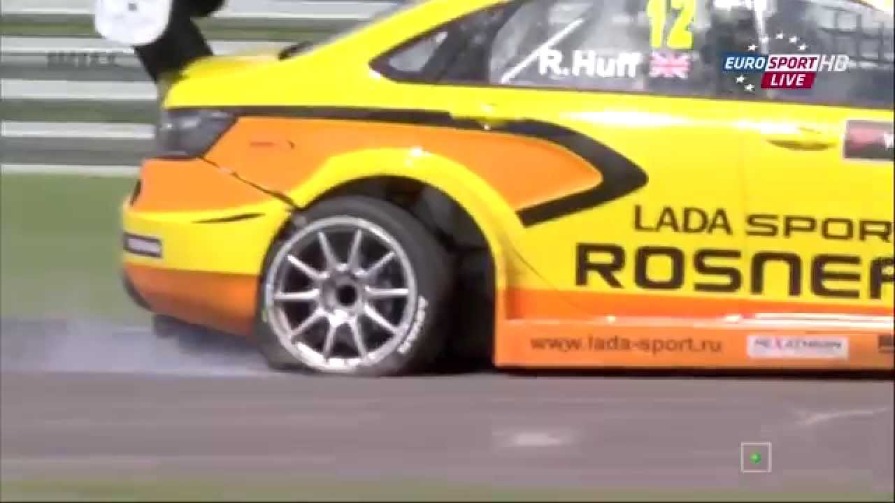 Kind of sums up a disappointing weekend for Lada.. Image taken from: Eurosport