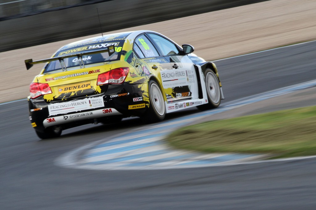 Hopefully, this rear view is all the competition will see this year! Image Credit: BTCC.net