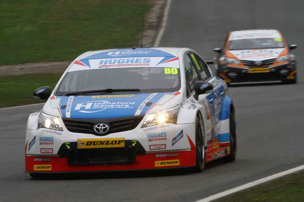 Ingram showed impressive pace throughout practice and qualifying. Photo Credit: BTCC.net
