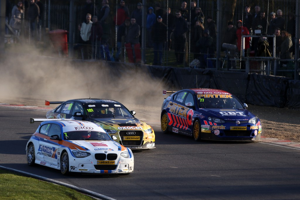 The BTCC still has drama a plenty in 2015. Image Credit: BTCC.net