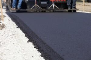 Modern asphalt/bitument/tarmac.