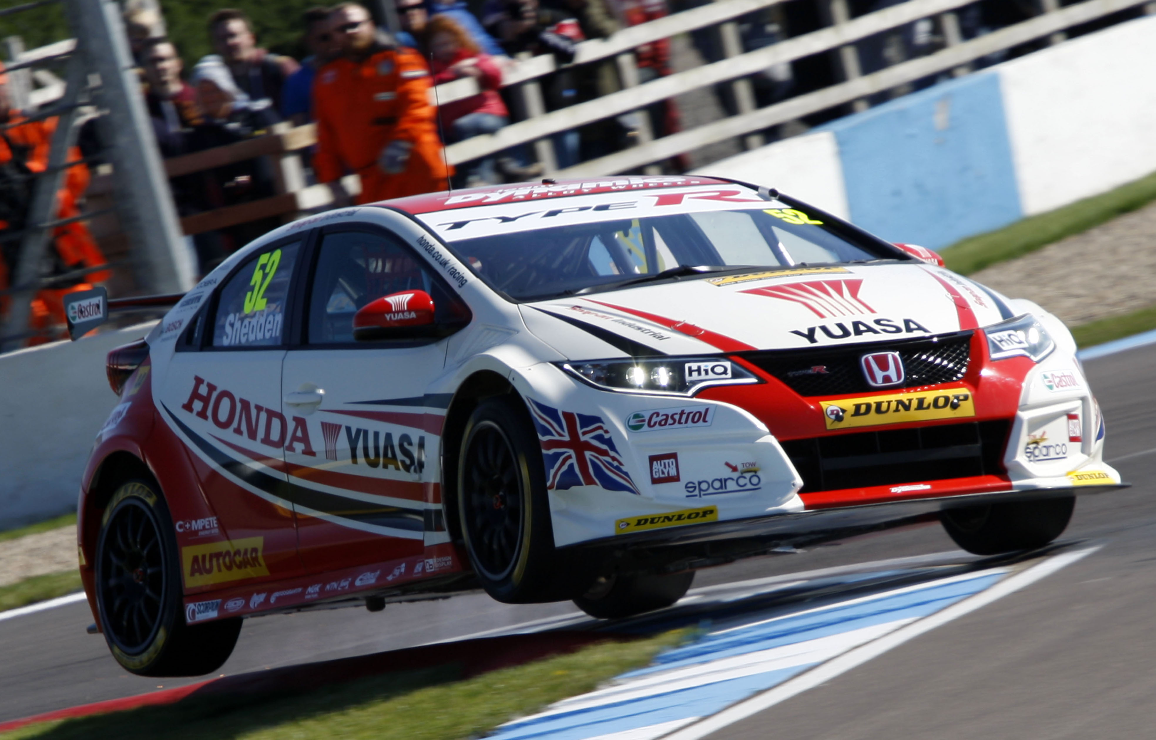The honda team are expected to be on flying form at thruxton image credit