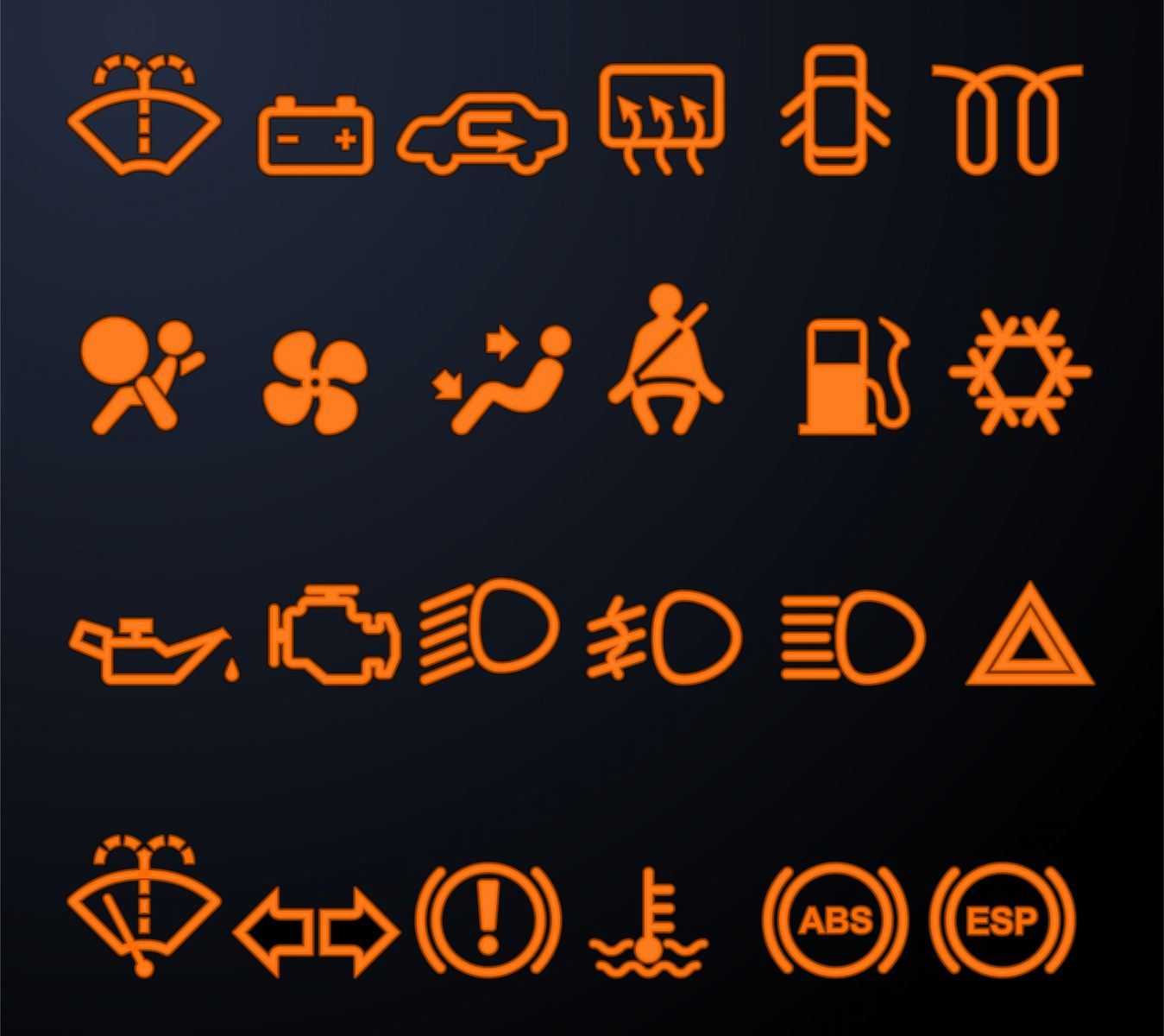 Those Signs On The Dashboard - Car signs on dashboard