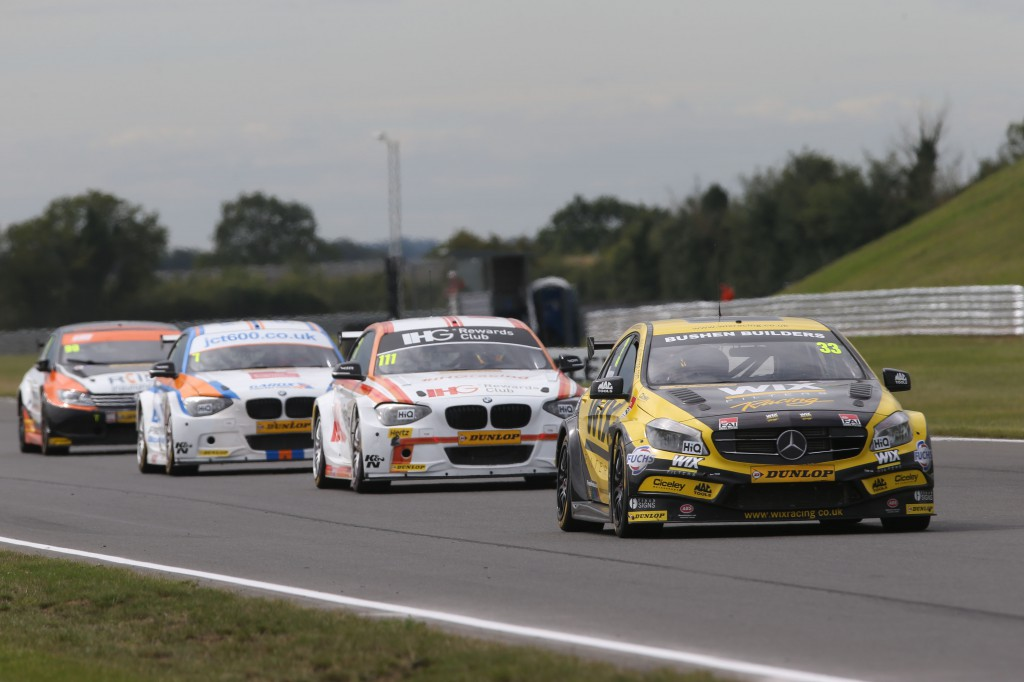 An impressive weekend for both Morgan and Priaulx at Snetterton! Photo Credit: BTCC.net