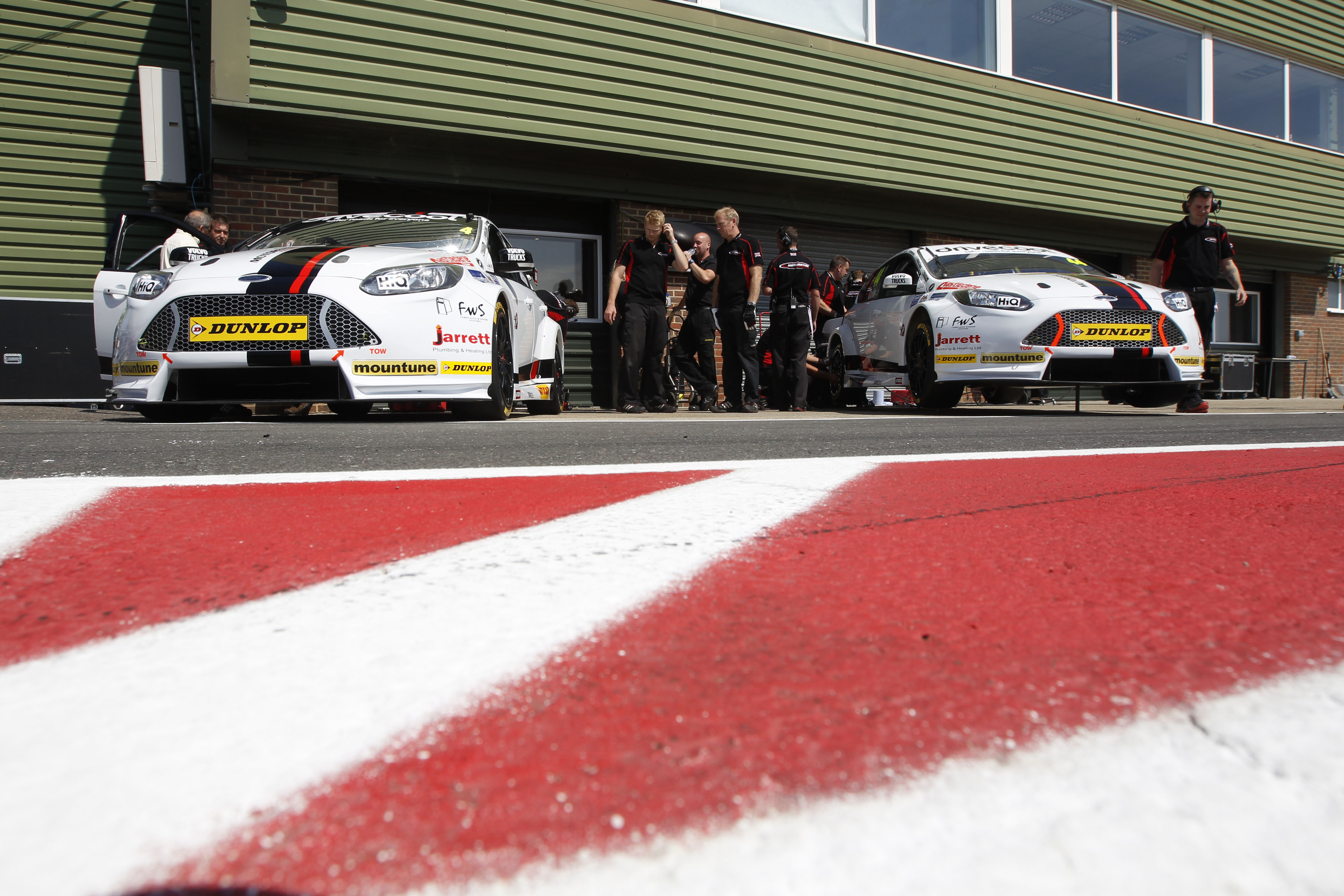 f1e940fb65 Expect Motorbase to be challenging for the win come race day. Photo credit   BTCC