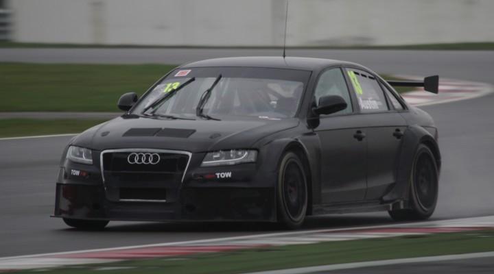 Beautifully demonic. Rob Austin brings Audi back. Photo Credit: BTCC.net