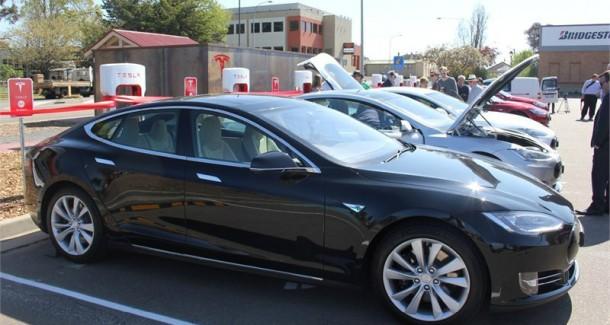 Tesla supercharger Goulbourn