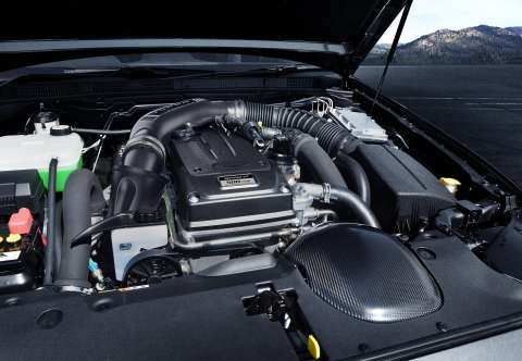 2016 Ford Falcon XR6 Sprint engine