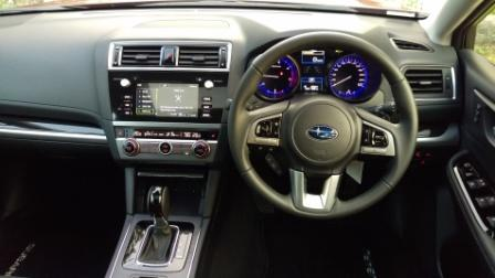 2016 Subaru Outback Premium dash 2