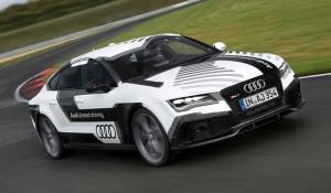 Driverless Audi