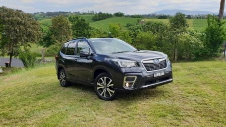 Private Fleet Car Review 2019 Subaru Forester Premium