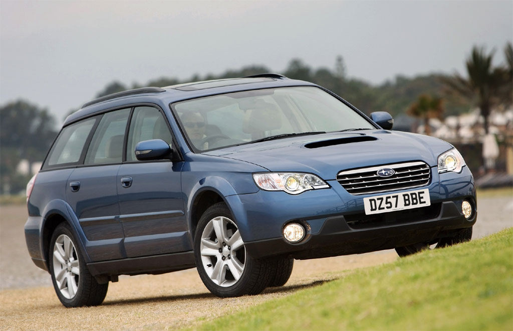 Freshly tickled up by Subaru's designers, the new Outback's exterior look is