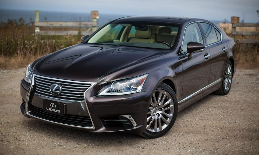 is a gorgeous car, and both the Lexus LS 460 F Sport and Luxury models