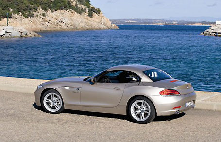 The BMW Z4 sDrive 30i looks as hot as a roadster should.