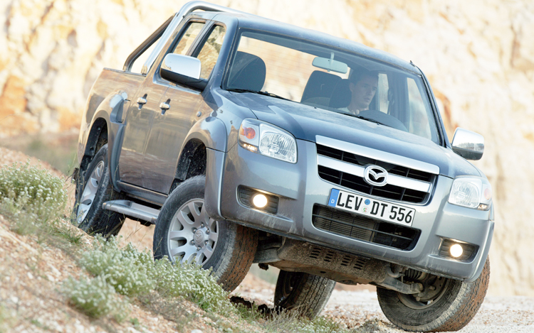 A refined, practical ute, the Mazda BT-50 does everything in its stride.