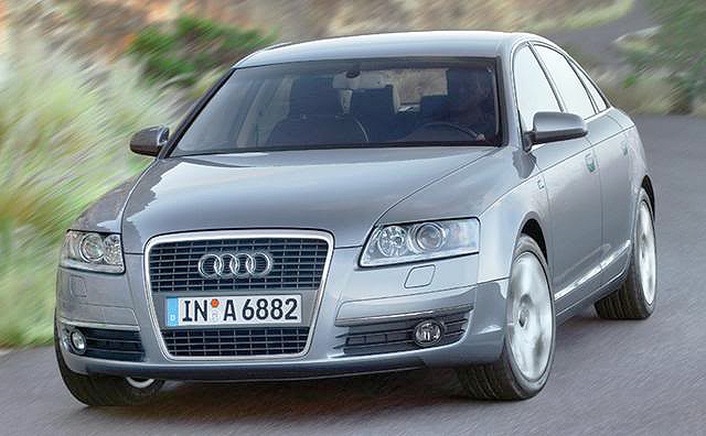 The Audi A6 2.7 TDI wraps the power of a turbodiesel engine in a luxurious skin.