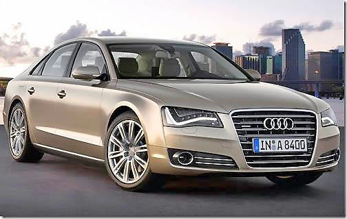Stylish and sleek, the Audi A8 Long Wheelbase has stacks of room and luxury.