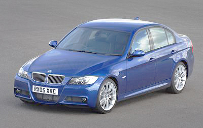 The BMW 330d features some very eye-catching exterior design.