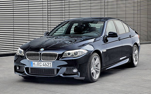 Progressive styling and punchy performance make the BMW 535d the complete class act.