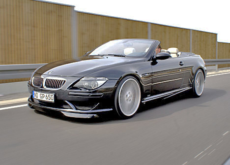 The BMW M6 Convertible certainly has the mmmmmm! factor.
