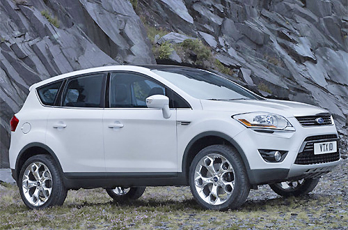 A nice chassis and a turbo five-cylinder engine means that the Ford Kuga is a great drive.  It looks great, too.