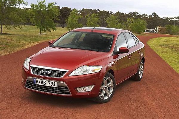 At first glance, the Ford Mondeo Zetec looks like a sedan but it's actually a very roomy hatchback.