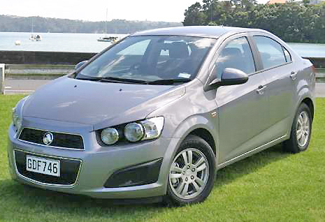 Striking looks give the Holden Barina Sedan a good leg into the competitive small car bracket.