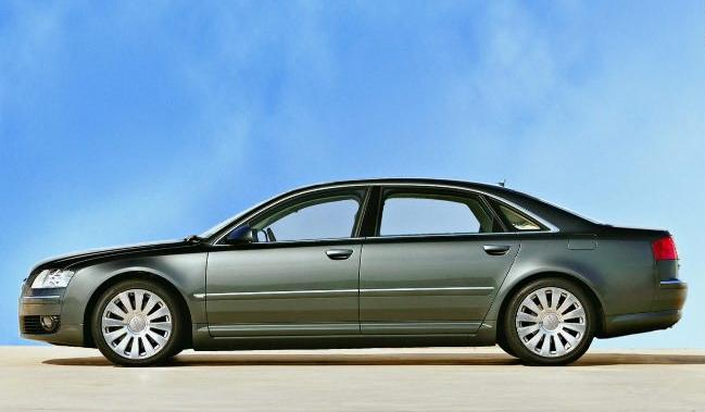 The Audi A8 Sedan is perhaps the benchmark for Mercedes and BMW now.