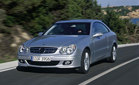 Mercedes Benz CLK350