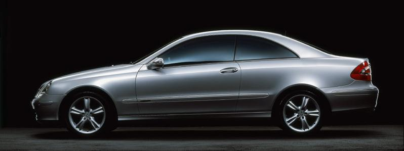 The Mercedes Benz CLK500 comes with colossal performance.