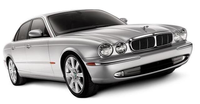 "Jaguar XJ8. ""And then the road was suddenly lit up as though by a"