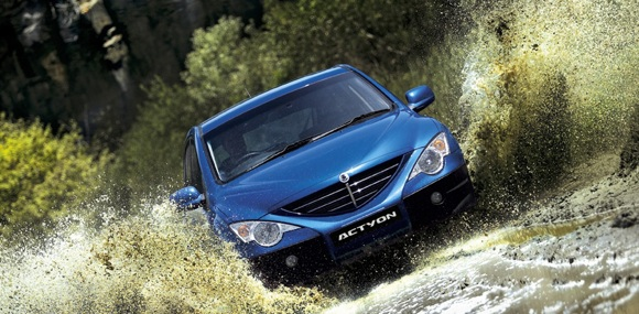 Grab yourself the latest Ssangyong Actyon and you'll be impressed with the