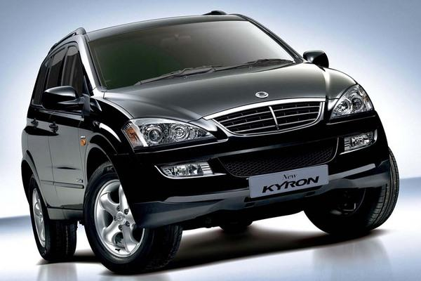 Ssangyong Kyron 2.0. The latest Ssangyong Kyron has