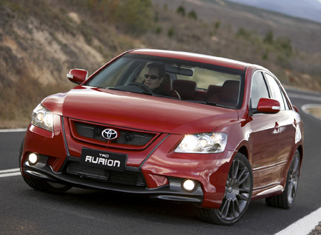 The Toyota Aurion TRD's performance is every bit as hot as the looks - downright sizzling!