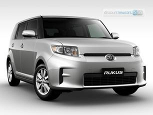 The Toytoa Rukus pushes the styling boundaries.  Is this the look of the next decade?