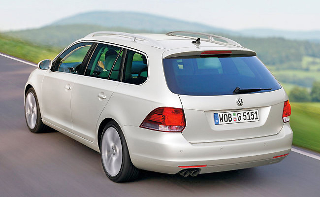Elegance in a wagon design is reserved for a few estates like the Volkswagen Golf Wagon.