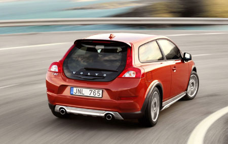 The Volvo C30 D5 may look hot but the diesel engine under the bonnet's even hotter.