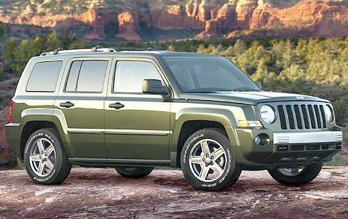 This new-look Jeep Patriot looks clean now, but it won't after doing the business off road.