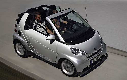 Who needs a motorcycle! The 2011 SmartForTwo turns all the heads you want, and does it with motrcycle frugality.