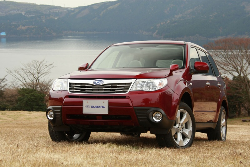 Rounded lines and refined detailing gave produced the best looking Subaru Forester by far.