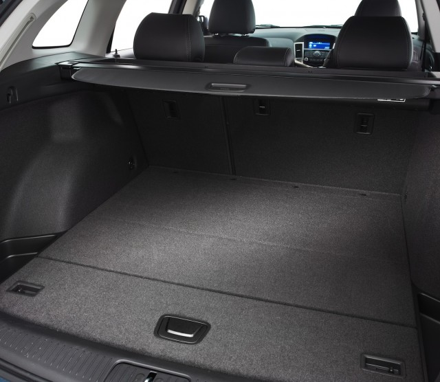 Wagon space can't be beaten in the mid-size new Holden Cruze Sportwagon.