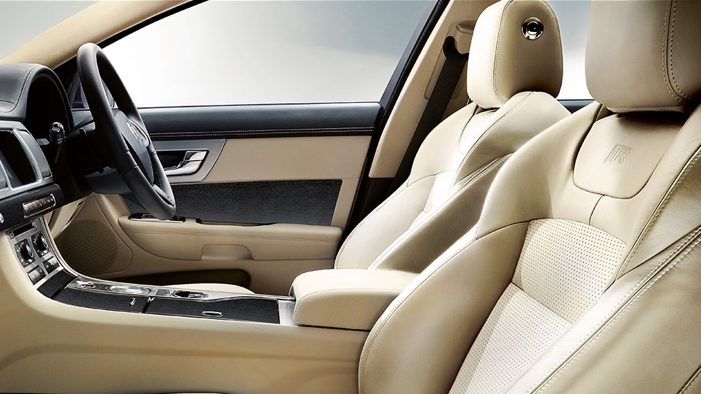 Warm Jaguar interiors offer sophistication and style to impress.